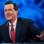 A quiet faith lurks behind Colbert's comedic bluster