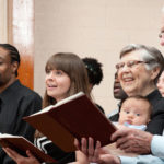 One of our problems within the church is that we are no longer intergenerational. Our church services are segregated by age and music preference. That's a sin we volunteered for.