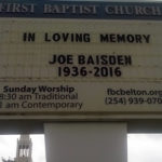 Belton Baptists honor Church of Christ pastor