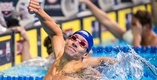 Olympic gold medalist finds source of happiness in God's gifts