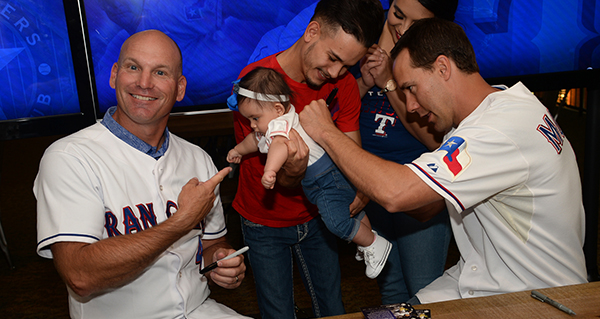 Around the State: Former Rangers at Richardson church